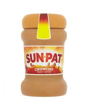Sun Pat Crunchy Peanut 300G Burro Di Arachidi Con Pezzettini Di Arachidi Sbriciolate
