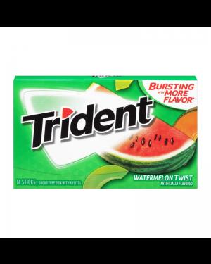 Trident Watermelon Gomme Da Masticare Gusto Anguria