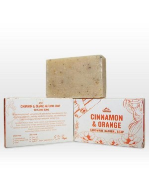 Suma Cinnamon & Orange Soap 95g